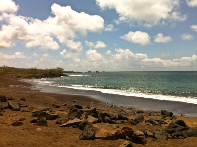 Beach on Floreana Island