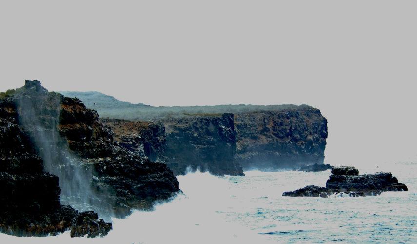 Steep Cliffs at Espanola Island