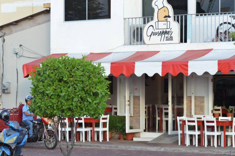 Giuseppe's Italian Restaurant in Galapagos