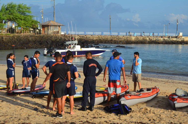 Coast Guard checking the Galakiwi Gear