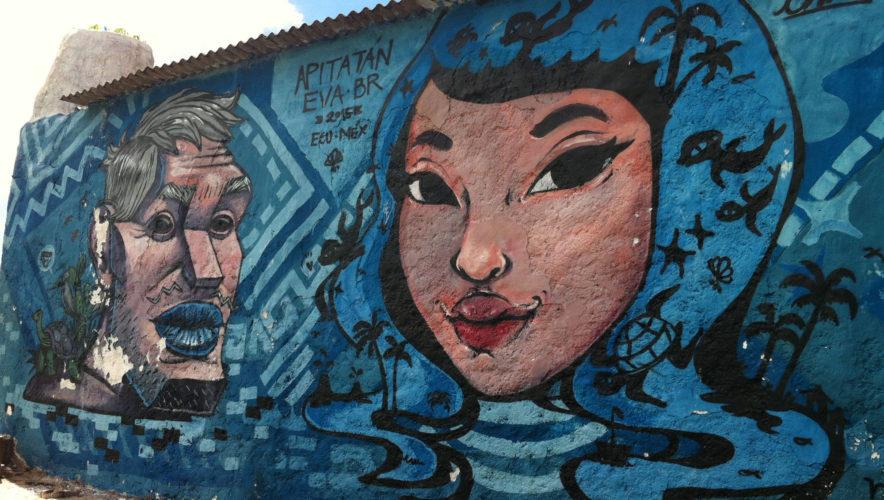 Galapagos Islands Street Art