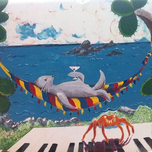 Isabela Island street art
