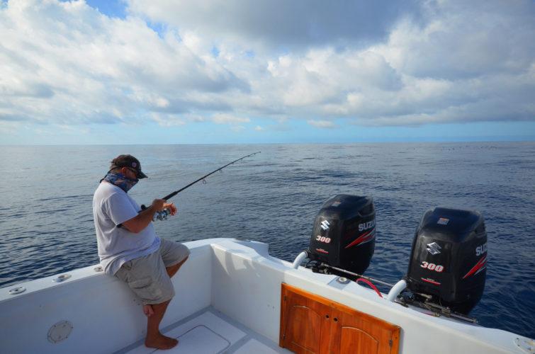 Fishing in the Galapagos