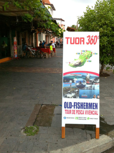 Tour 360 Sign in Galapagos