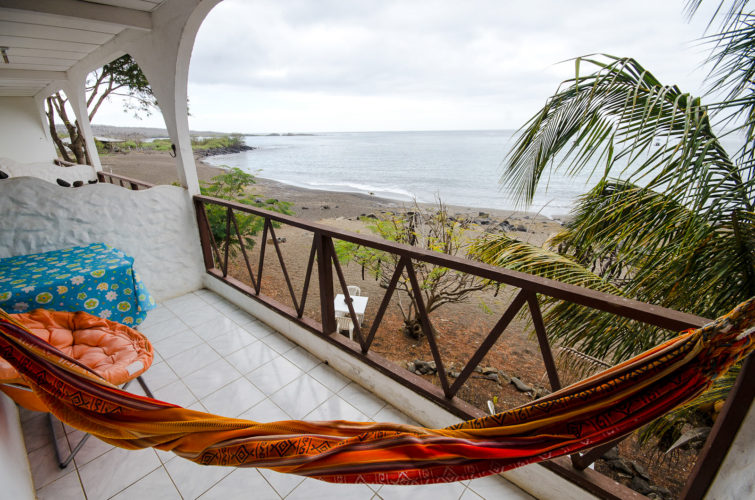 Hammock time on Floreana Island
