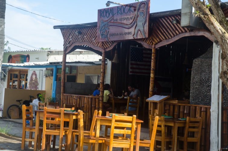Royal Rock Restaurant on Isabela Island