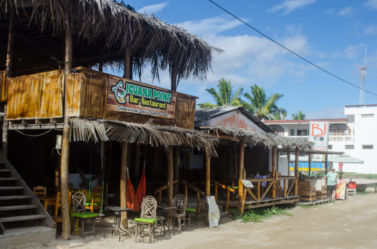 Iguana Point Restaurant on Isabela Island