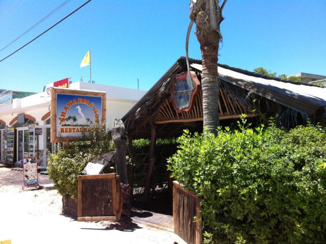 Shawarma Hot on Isabela Island